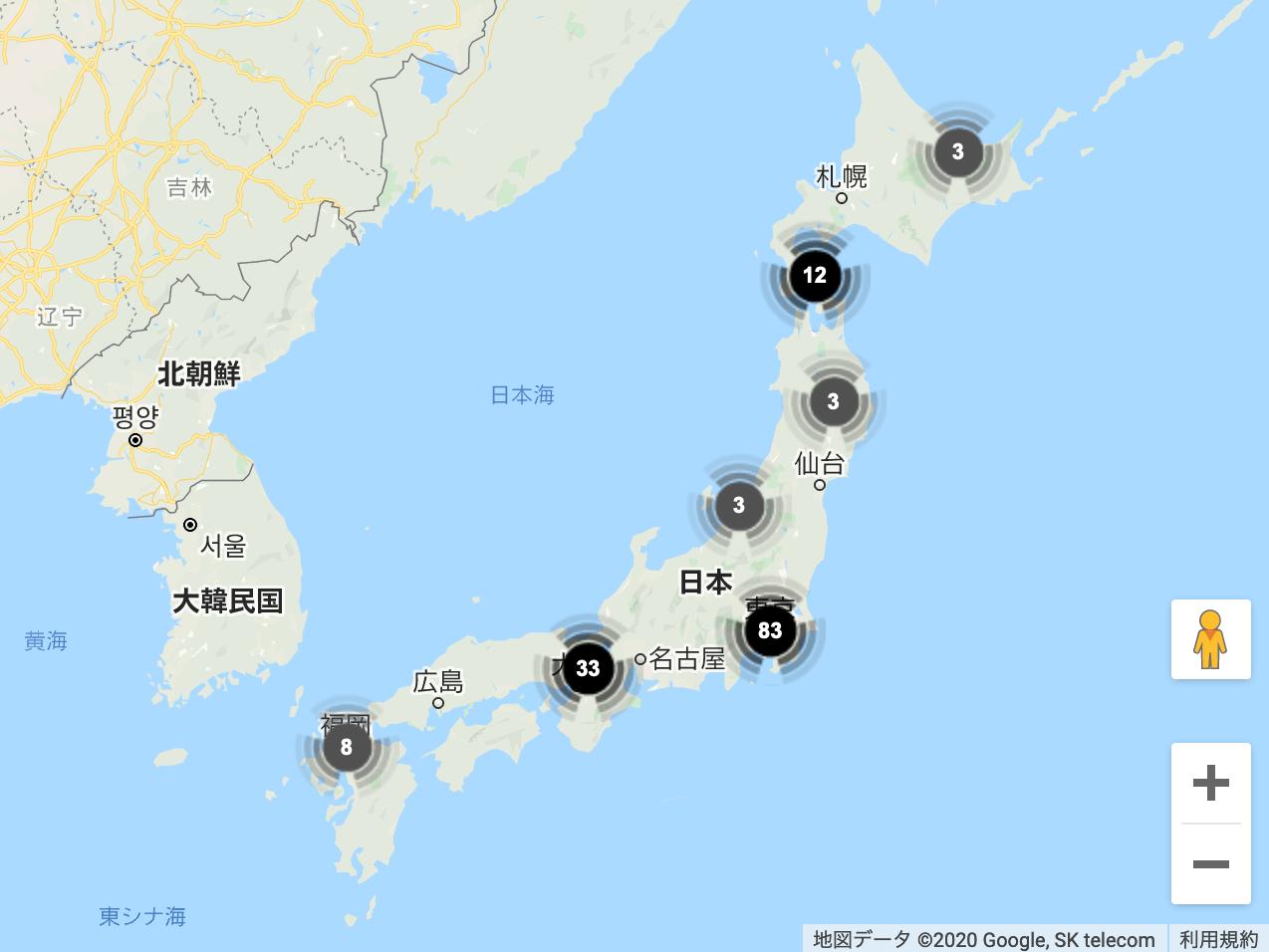 物件エリアポートフォリオマップ